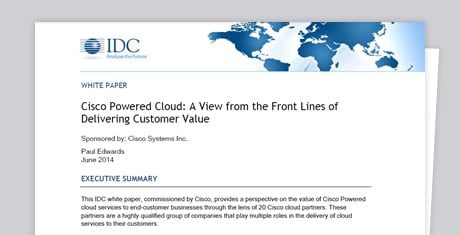 IDC – Cisco Powered