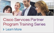 Cisco Services Partner Program Training Series