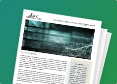 ACG Research Analyzed the Cisco Intelligent WAN