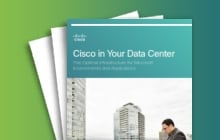 Thank you for your interest – Unified Data Center automates and simplifies deployment