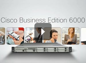 Beneficios Cisco Business Edition 6000