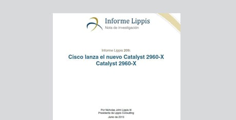 Nuevos Switches Cisco Catalyst serie 2960-X