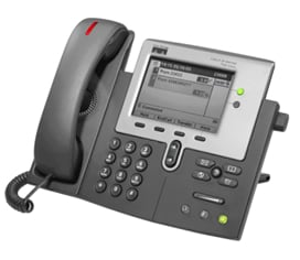 図 1 Cisco Unified IP Phone 7941G