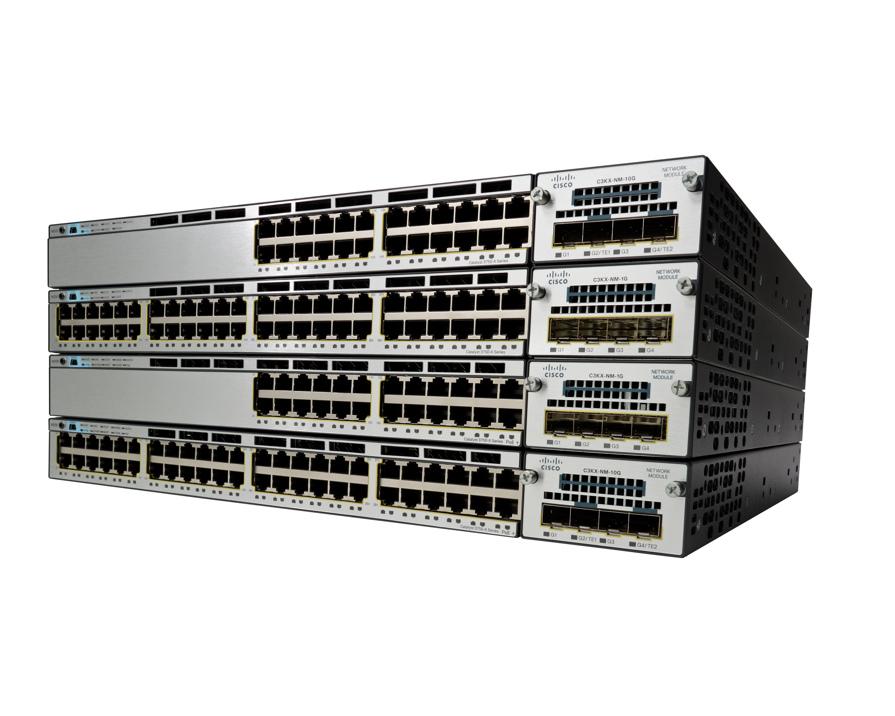 Cisco Catalyst 3750-X series