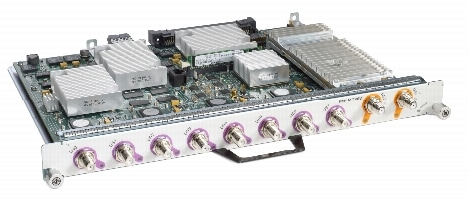 図 1 Cisco uBR-MC88V Broadband Processing Engine