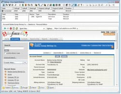 図 4. Cisco Agent Desktop Client Edition