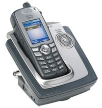 図 1 Cisco Unified Wireless IP Phone 7921G