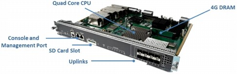 図 1 Cisco Catalyst 4500E Supervisor Engine 8-E