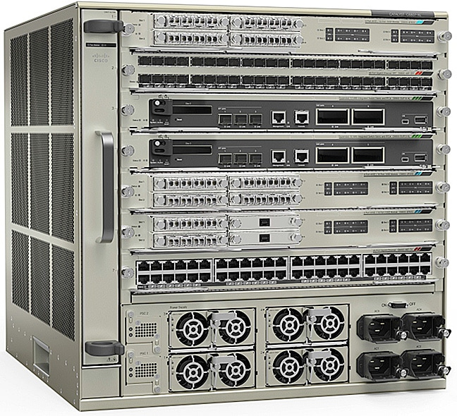 図 1 Cisco Catalyst 6807-XL シャーシ