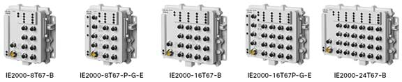 図 1 Industrial Ethernet 2000 IP67 シリーズ