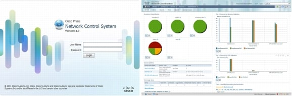 図 1 Cisco Prime Network Control System
