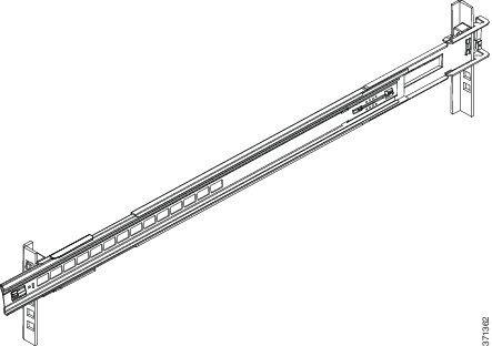 Cisco ASA-RAILS Rail Kit for ASA5512-X 5515-X 5525-X 5545-X 5555-X series NEW!!