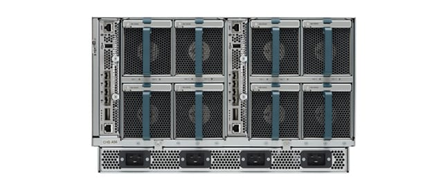 Cisco UCS 5108 Chassis with Cisco UCS 6324 Fabric Interconnect
