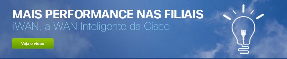 WAN Inteligente (iWAN) da Cisco