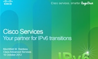 Your partner for IPv6  transitions