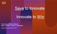 Save to Innovate, Innovate to Win