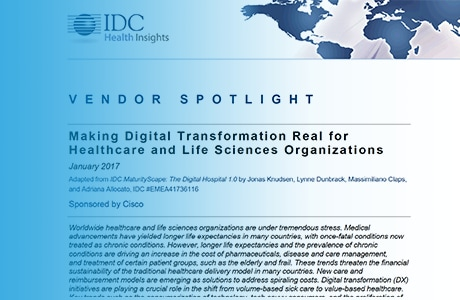 Cisco's commitment and leadership in healthcare is showcased in this Vendor Spotlight from IDC.