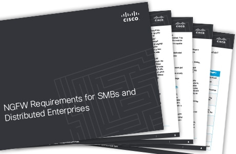 Cisco NGFW Firewalls for small to midsize businesses