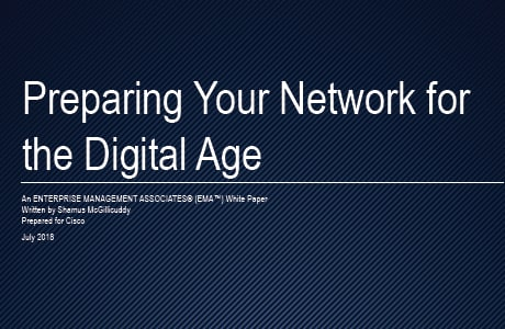 EMA Analyst Report: Preparing Your Network for the Digital Age