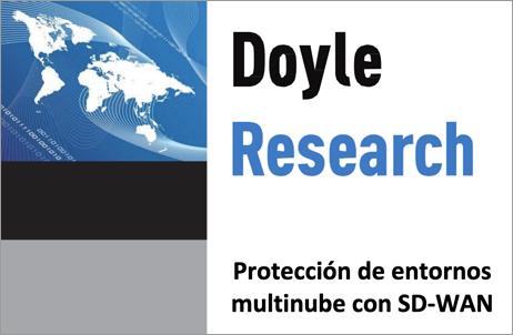 Informe de investigación de Doyle: Proteger los entornos multinube con SD-WAN
