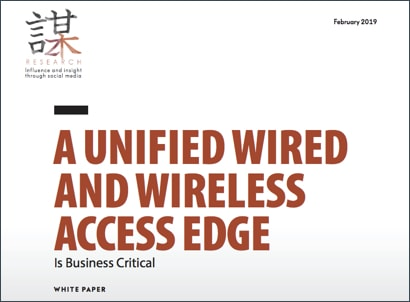 ZK Research Unified Wired and Wireless Access Edge is Business Critical