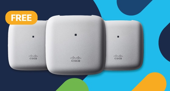 Buy one access point, get one free
