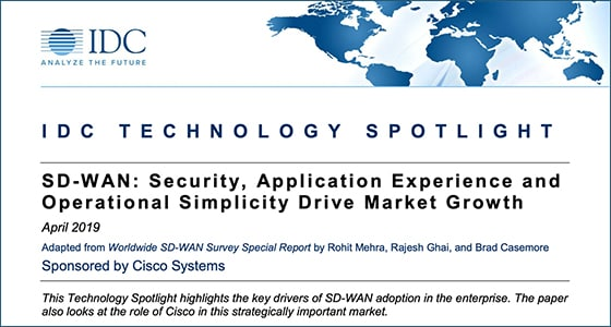 IDC Technology spotlight: SD-WAN