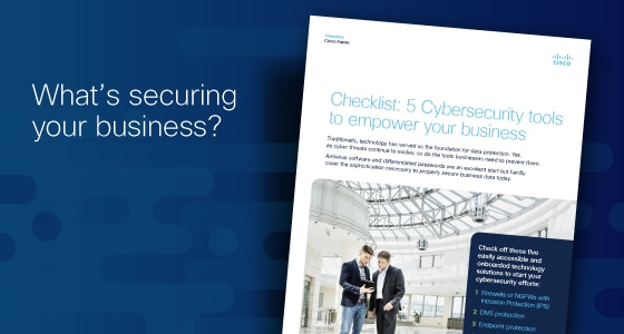 Cybersecurity checklist for small and medium-sized businesses