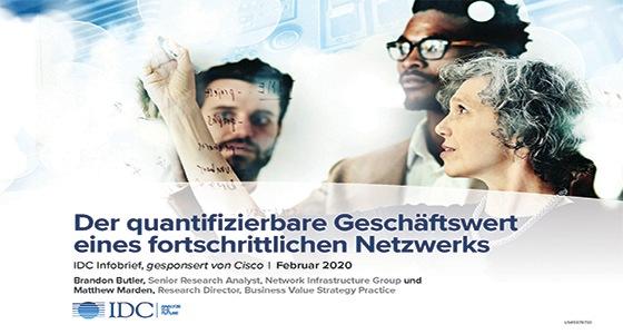 IDC-Studie zum Geschäftswert von Advanced Networking