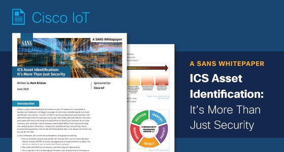 White Paper: ICS Asset Identification: It's More Than Just Security