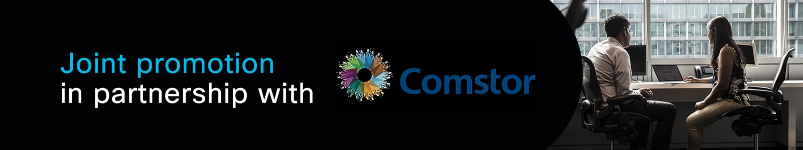 Cisco joint promotion in partnership with Comstor