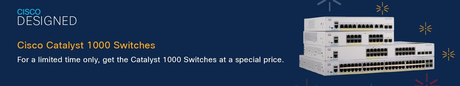Cisco Catalyst 1000 Switches