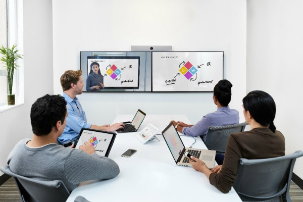 Collaboration video endpoints