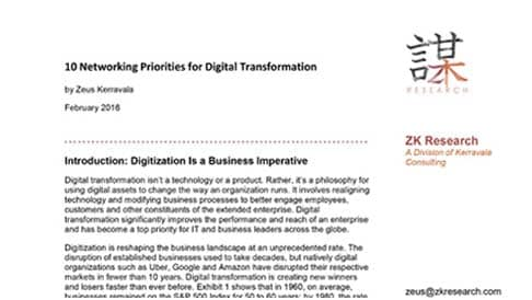 ZK Research: Digital Transformation