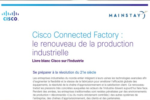 The Cisco Connected Factory