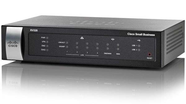 RV320 Dual Gigabit WAN VPN Router