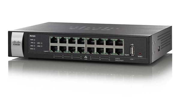 RV325 Dual Gigabit WAN VPN Router
