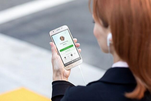Standortbezogene mobile Dating