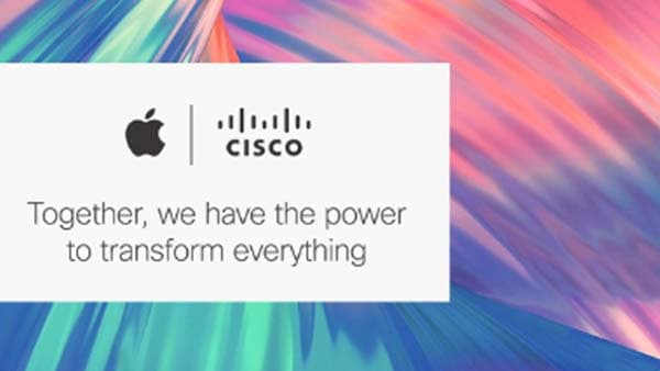 Apple and Cisco partnership