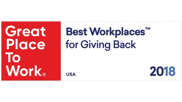 50 Best Workplaces for Giving Back