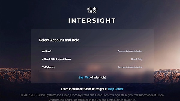 Cisco Intersight in action