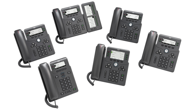 IP Phone 6800 Series Family Photo