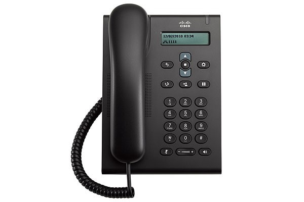 Cisco Unified SIP Phone 3900 series phone