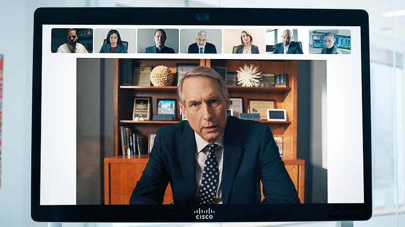 Webex Board on the Showtime series Billions