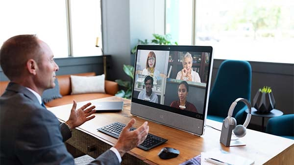 Video conferencing monitor