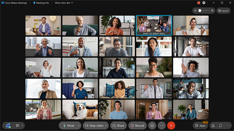 Experience the new Cisco Webex Meetings