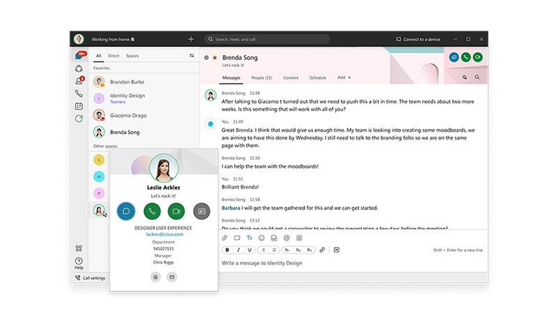The all new Webex
