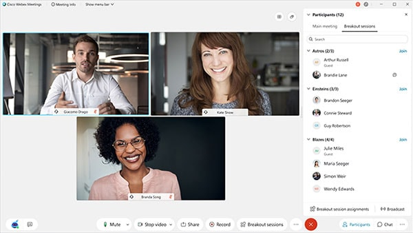 When remote work is a necessity, Cisco Webex is there