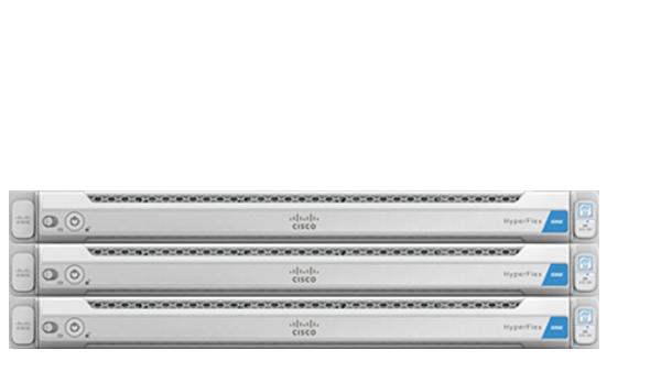 a photo of a Cisco hyperconverged server
