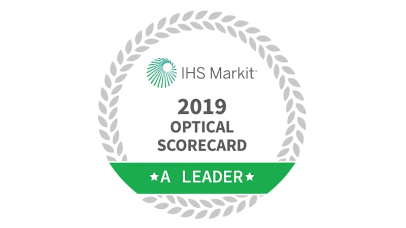 Cisco Leads in the Optical Market according to IHS
